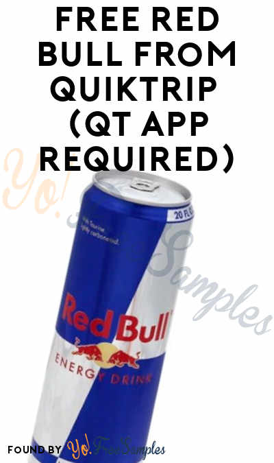 FREE Red Bull From QuikTrip (QT App Required)