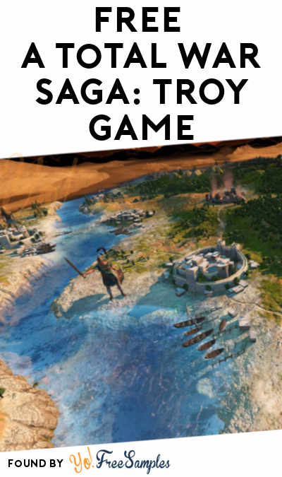 FREE A Total War Saga: TROY Search PC Game From Epic Games (Account Required)