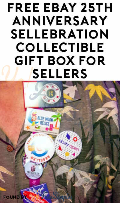 FREE eBay 25th Anniversary Sellebration Collectible Gift Box For Sellers