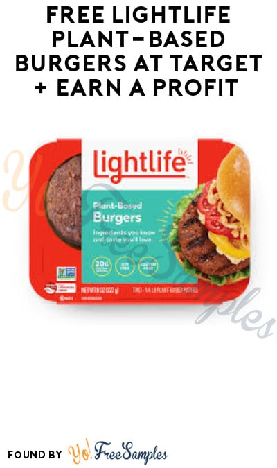 FREE Lightlife Plant-Based Burgers at Target + Earn A Profit (Ibotta Required)