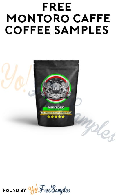 FREE Montoro Caffe Coffee Samples (Email Required)