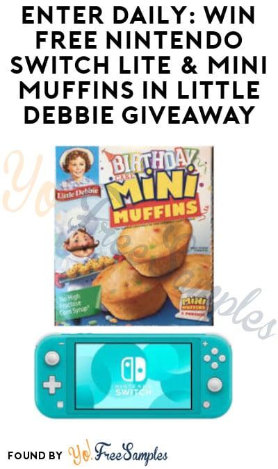 Enter Daily: Win FREE Nintendo Switch Lite & Mini Muffins in Little Debbie Giveaway