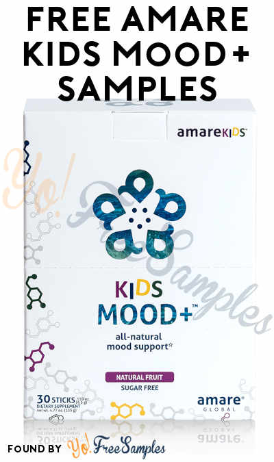 FREE Amare Kids Mood+ Samples (Survey Required)