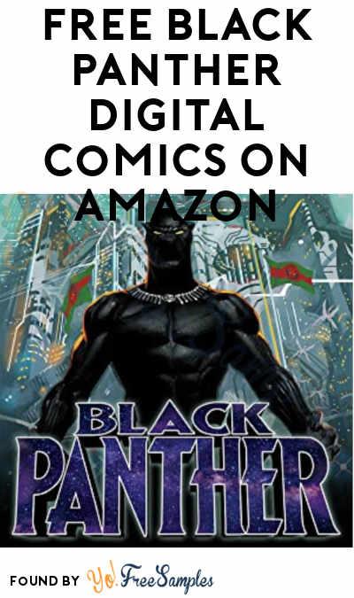 FREE Black Panther Digital Comics On Amazon