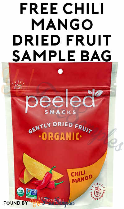 FREE Chili Mango Dried Fruit Sample Bag
