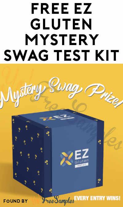 FREE EZ Gluten Mystery Swag Test Kit