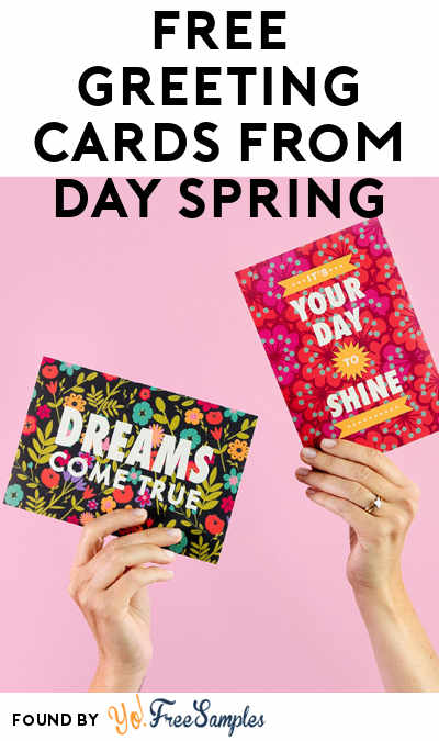 FREE Greeting Cards from Day Spring