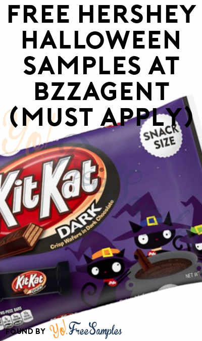 FREE Hershey Halloween Samples At BzzAgent (Must Apply)
