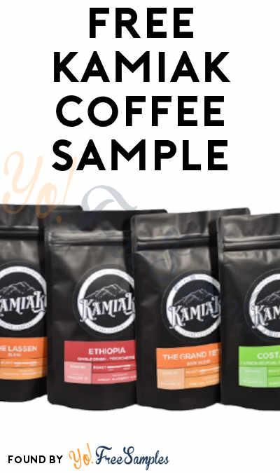 FREE Kamiak Coffee Sample