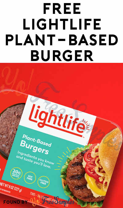 FREE Lightlife Plant-Based Burger