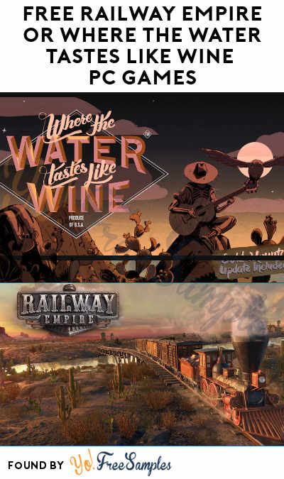 FREE Railway Empire or Where The Water Tastes Like Wine PC Game From Epic Games (Account Required)