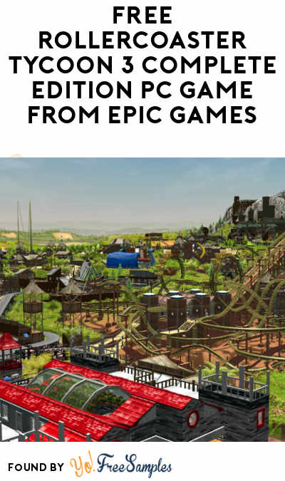 FREE RollerCoaster Tycoon 3 Complete Edition PC Game From Epic Games (Account Required)