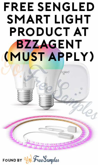 FREE Sengled Smart Light Product At BzzAgent (Must Apply)