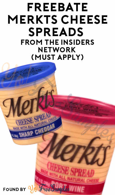 FREEBATE Merkts Cheese Spreads From The Insiders Network (Must Apply)