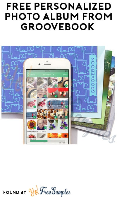FREE Personalized Photo Album from Groovebook (App + Credit Card Required)