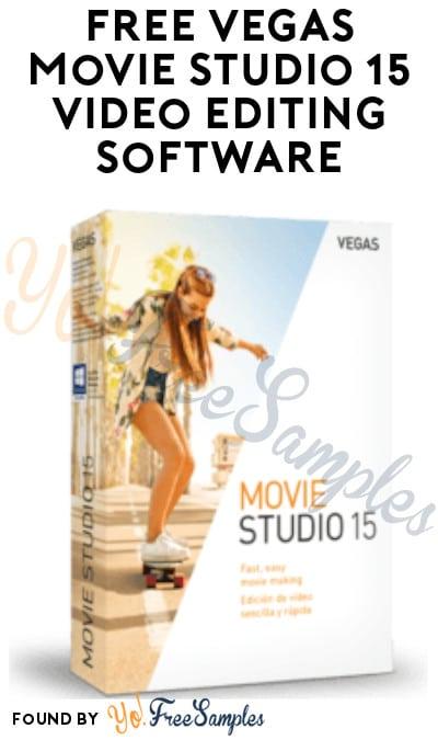 FREE Vegas Movie Studio 15 Video Editing Software