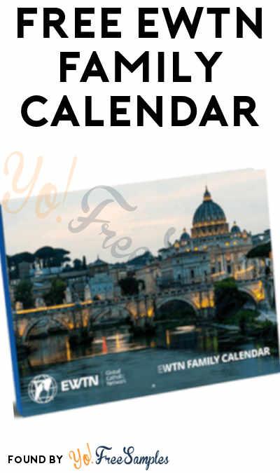 FREE EWTN Family 2021 Calendar