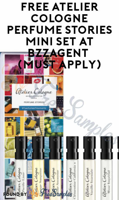 FREE Atelier Cologne Perfume Stories Mini Set At BzzAgent (Must Apply)