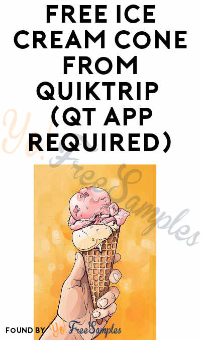 FREE Ice Cream Cone From QuikTrip (QT App Required)