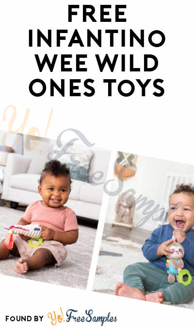 Possible FREE Infantino Wee Wild Ones Toys (Must Apply)