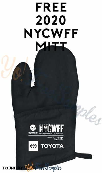 FREE 2020 NYCWFF Oven Mitt