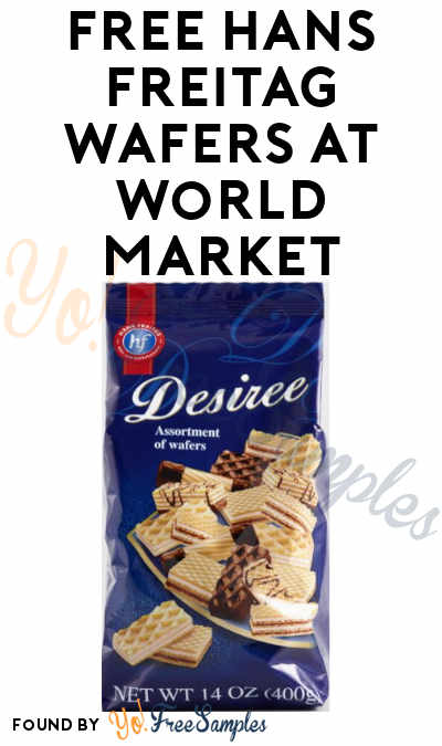 FREE Hans Freitag Wafers At World Market