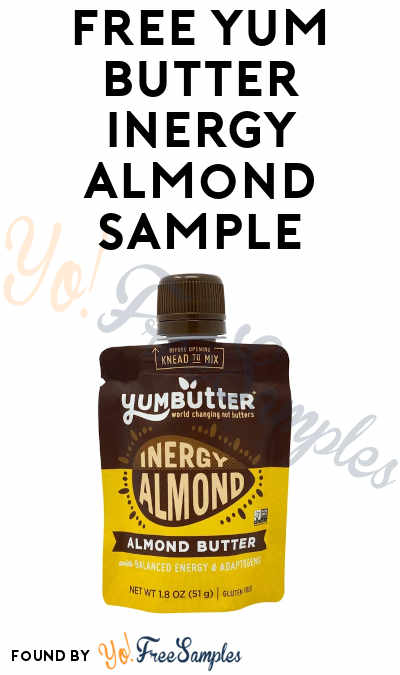 FREE Yum Butter Inergy Almond Sample (Instagram Required)