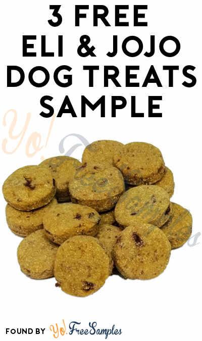 3 FREE Eli & Jojo Dog Treats
