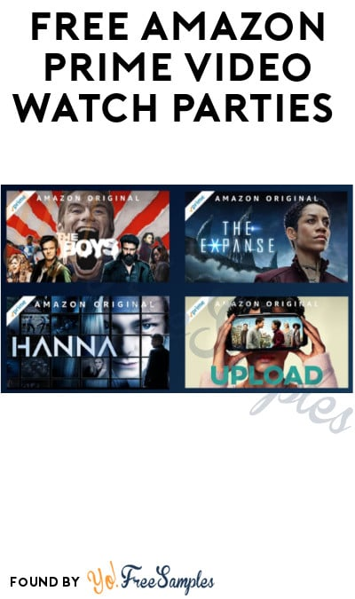 FREE Amazon Prime Video Watch Parties (Prime Required)