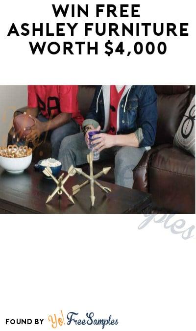 Win FREE Ashley Furniture worth $4,000