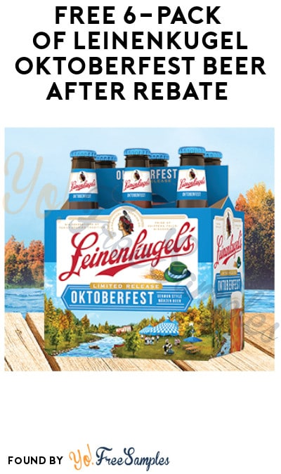 FREEBATE Leinenkugel Oktoberfest Beer (Ages 21 & Older Only + Select States)