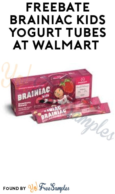 FREEBATE Brainiac Kids Yogurt Tubes at Walmart (Ibotta Required)