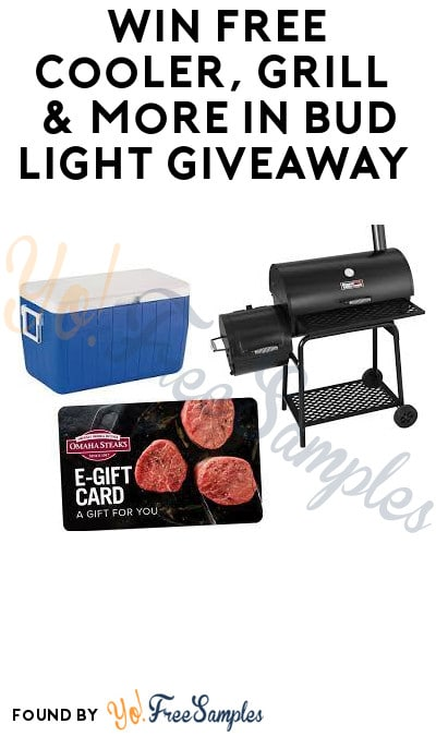 Win FREE Cooler, Grill & More in Bud Light Giveaway (Ages 21 & Older Only)