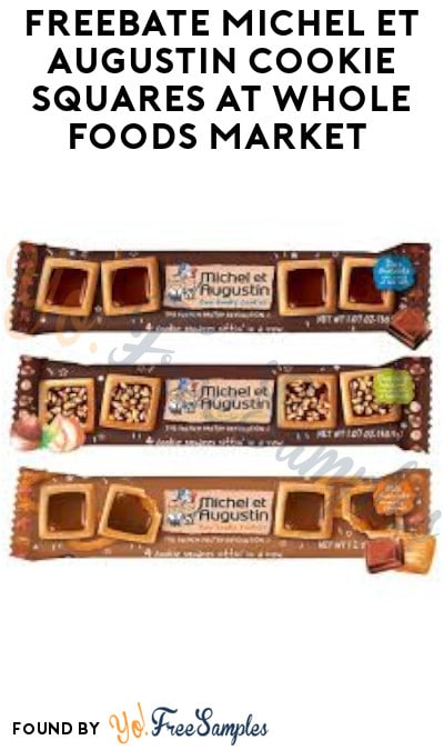 FREEBATE Michel et Augustin Cookie Squares at Whole Foods Market (Ibotta Required)