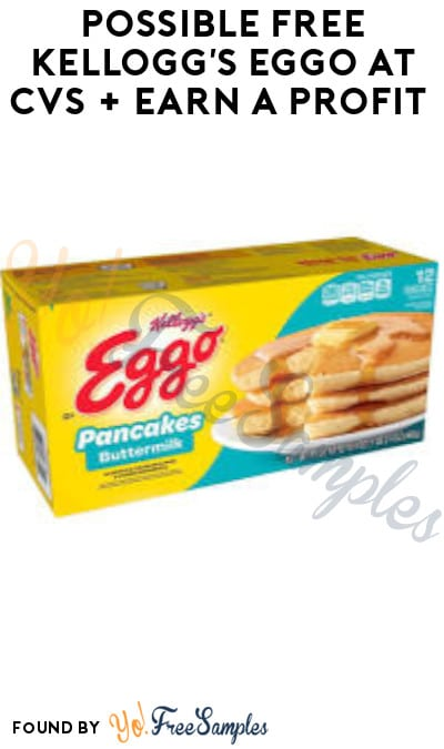 4 Possible FREE Kellogg's Eggo at CVS + Earn A Profit (Coupons & Ibotta Required)