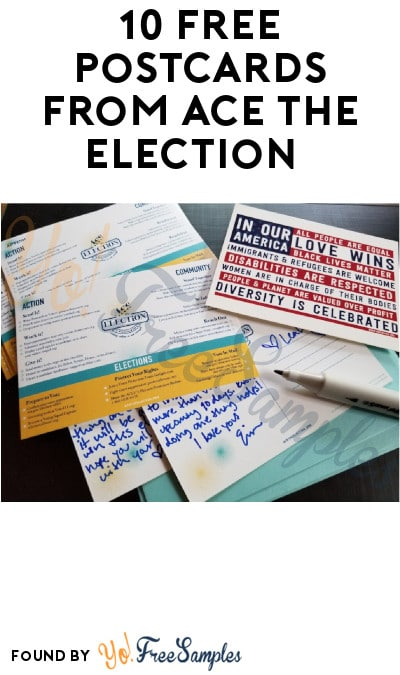 10 FREE Postcards from Ace The Election