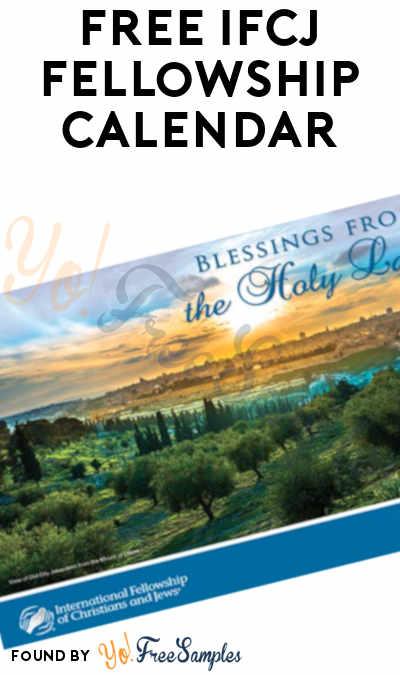 FREE 2021 IFCJ Fellowship Calendar