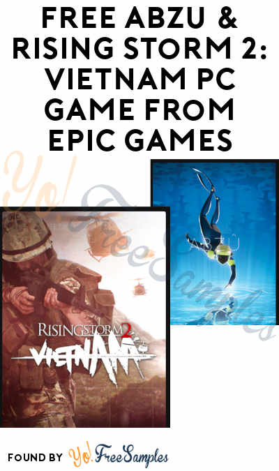 FREE ABZU & Rising Storm 2: Vietnam PC Game From Epic Games (Account Required)