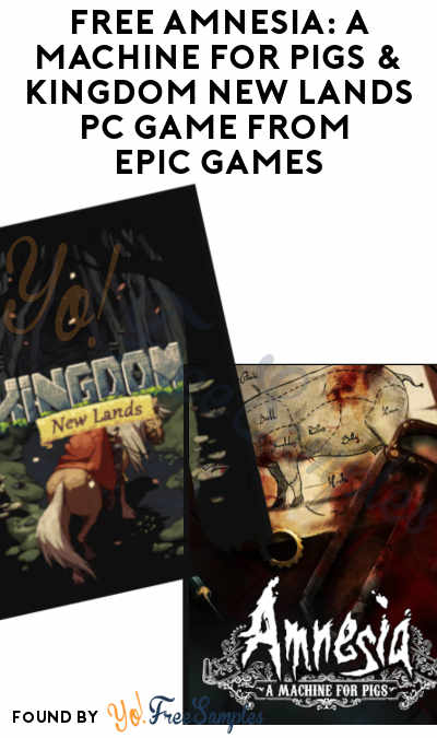 FREE Amnesia: A Machine for Pigs & Kingdom New Lands PC Game From Epic Games (Account Required)