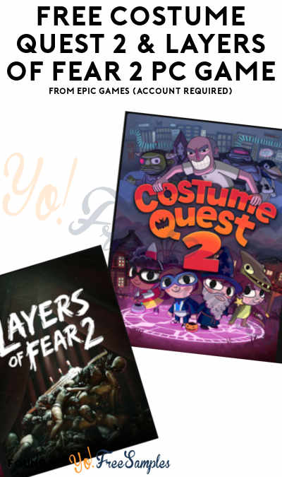 FREE Costume Quest 2 & Layers of Fear 2 PC Game From Epic Games (Account Required)