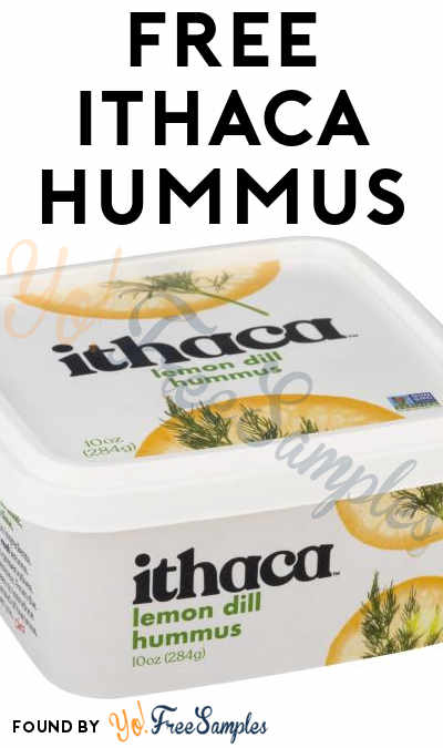 FREE Ithaca Hummus Full-Size Product Coupon (Survey Required)