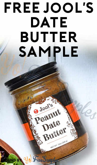 FREE Jool's Date Butter Sample