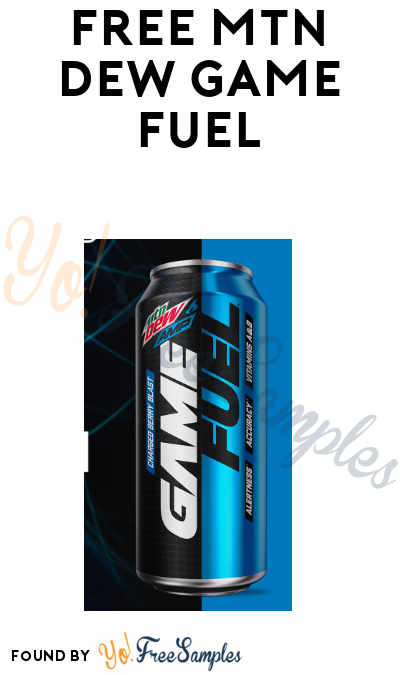 FREE Mtn Dew Game Fuel From Fooji (Select Areas + Twitter Required)