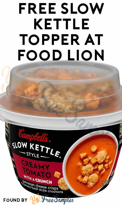 FREE Slow Kettle Topper At Food Lion (Food Lion MVP Members)