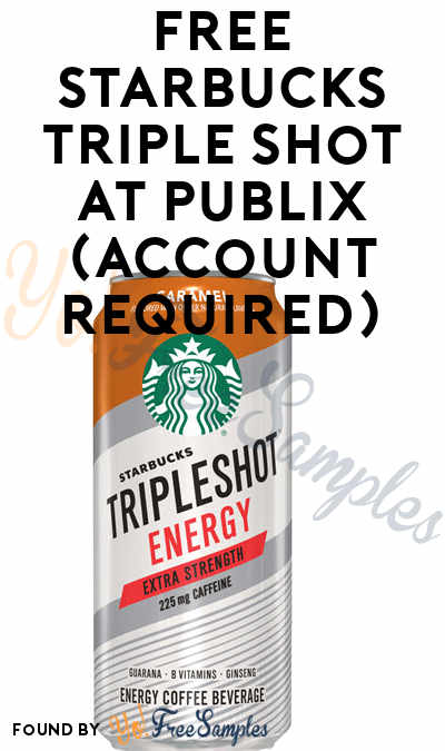 FREE Starbucks Triple Shot at Publix (Account Required)