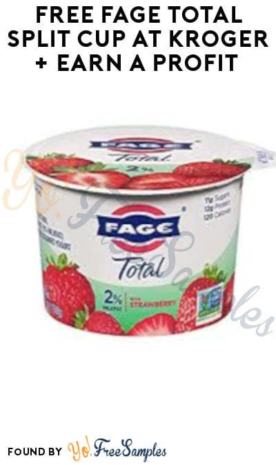 FREE Fage Total Split Cup at Kroger + Earn A Profit (Account & Ibotta Required)