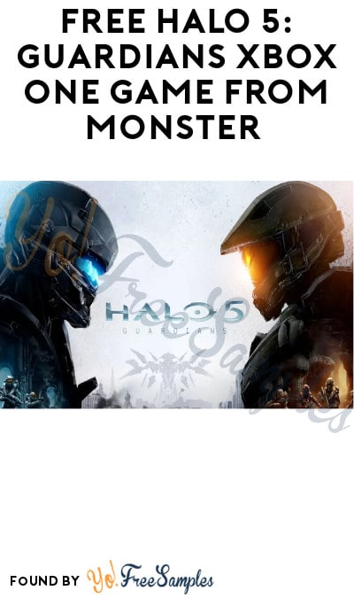 FREE Halo 5: Guardians Xbox One Game from Monster