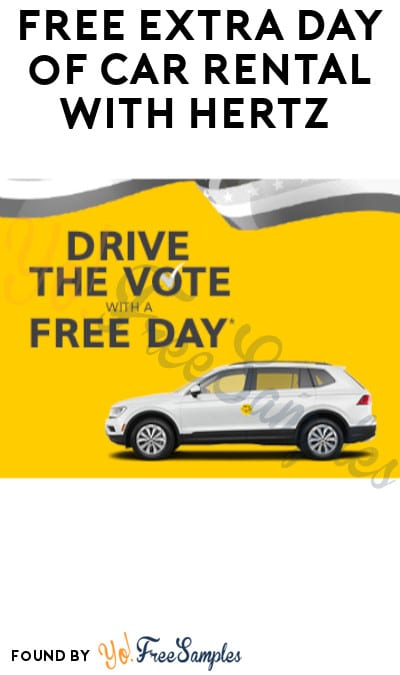 FREE Extra Day of Car Rental with Hertz