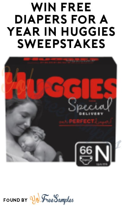 Win FREE Diapers For A Year in Huggies Sweepstakes