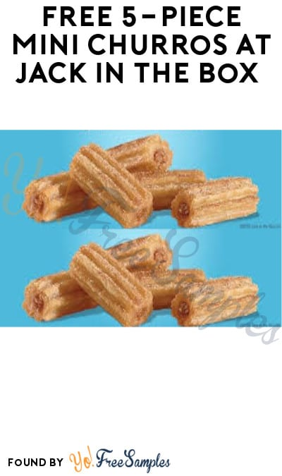 FREE 5-Piece Mini Churros at Jack In The Box (In-Stores Only)